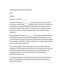 Sponsorship Letter For Charity Run 40 Sponsorship Letter Amp Sponsorship Proposal Templates