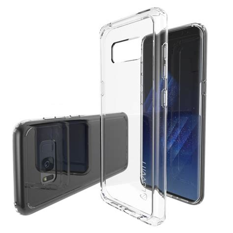 Samsung Galaxy S8 Back Casing Design 028 galaxy s8 luvvitt clear view hybrid scratch resistant back cover with shock absorbing