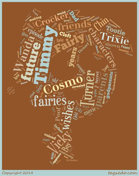typography word cloud timmy turner word cloud typography by 120dog on deviantart