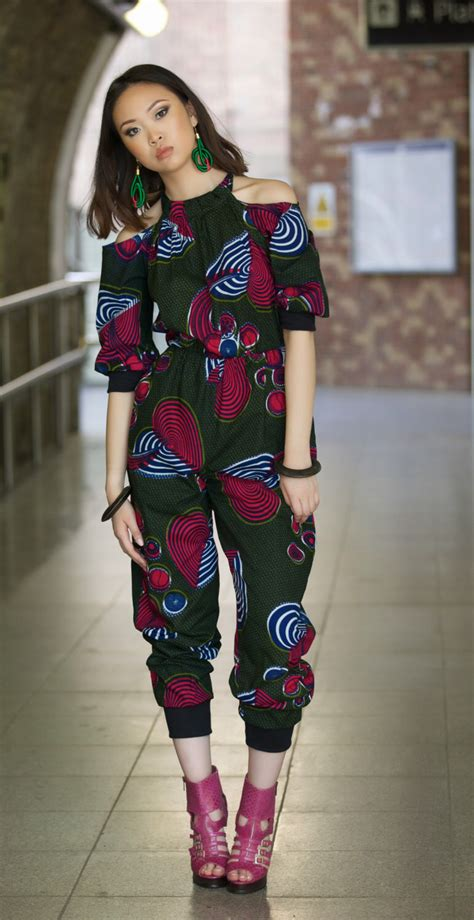 styles of ankara jump suits i am red ankara jumpsuit by gitas portal by gitasportal on