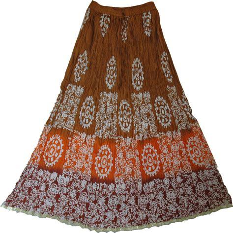 batik skirt pattern batik print cotton skirt clothing