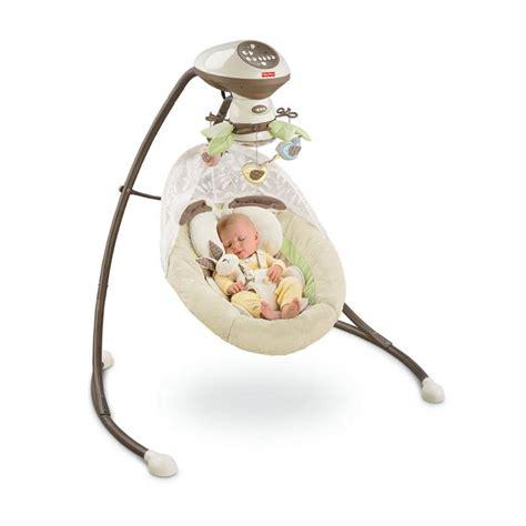 snug a bug cradle swing fisher price my little snugabunny cradle swing