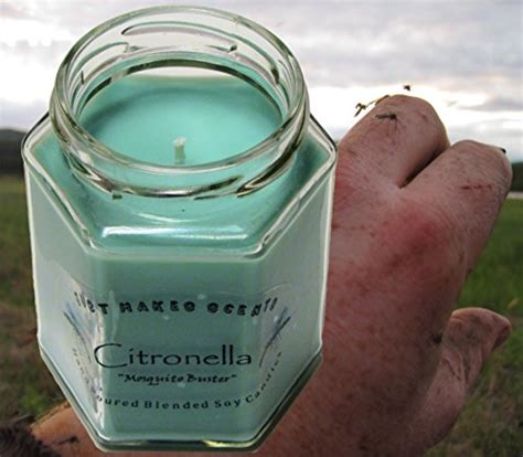 scented indoor l citronella mosquito repellant scented blended soy candle