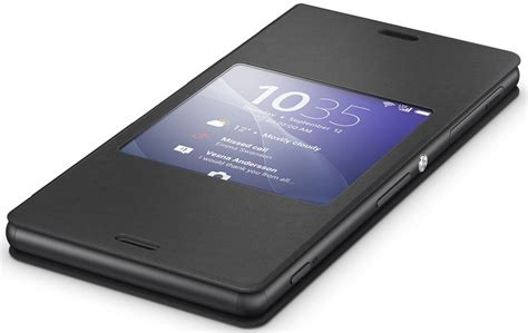 Style Cover Windows Scr24 Sony Xperia Z3 Black sony scr24 style cover window xperia z3 black ispace cz