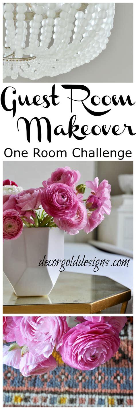 one room challenge one room challenge bedroom week 3 decor gold designs