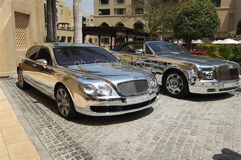 plated rolls royce silver plated luxury cars in dubai rolls royce and