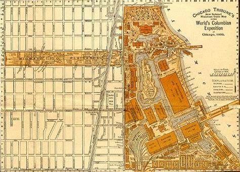 chicago worlds fair map 1893 chicago world fair