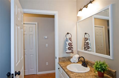 Bathroom Mirrors White Frame by Bathroom Mirror Frames And How To Get Them Custom Made