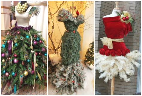 2016 2017 christmas tree dress form ideas youtube