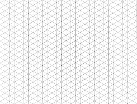 6 best images of printable isometric grid paper