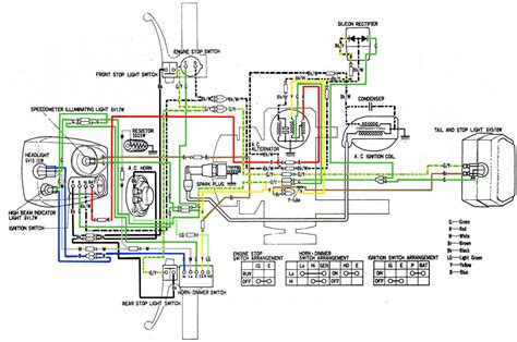 wiring diagram for 1978 honda express 28 images parts