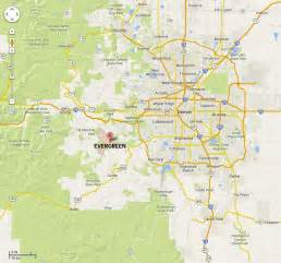 Evergreen Colorado Map by Visit Evergreen Colorado Natural Beauty And More