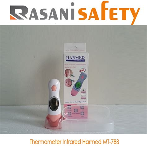 Harmed Termometer Instant Mt 788 thermometer harmed thermometer 5 in 1 dahi telinga