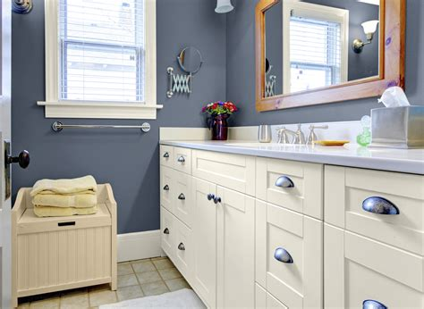 cornflower blue bathroom bathrooms colors great beautiful white wainscoting tub