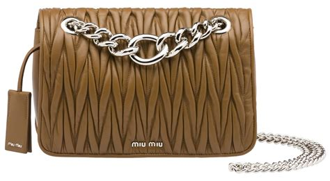 Miu Miu Plisse Crescent Purse by Welcoming Back Miu Miu With The Club Bag Purseblog