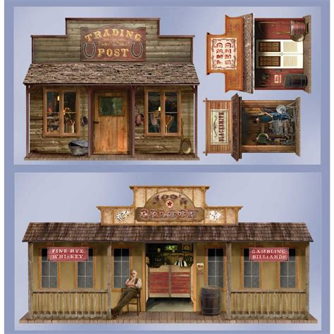 old western home decor wild west wall decor from birthday express birthday