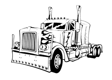 Wheels Truck Coloring Pages Trucks Coloring Pages Lets Coloring
