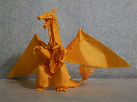 How To Make An Origami Charizard - origami from the best generation part 1