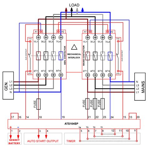 Ebook 7447 Manual Change Over Switch Circuit Diagram
