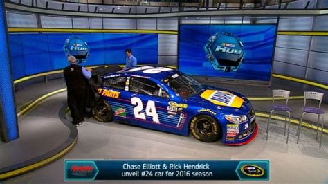 chase elliott reveals 2017 no 24 napa auto parts paint scheme napa know how blog chase elliott reveals no 24 on fs1 s nascar race hub
