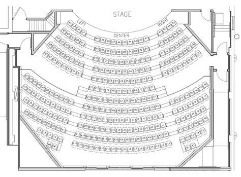 Chicago Theater Floor Plan Victory Gardens Biograph Seating Chart Theatre In Chicago