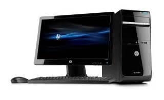 Hp Desk Top Computers Desktop Computer Free Large Images