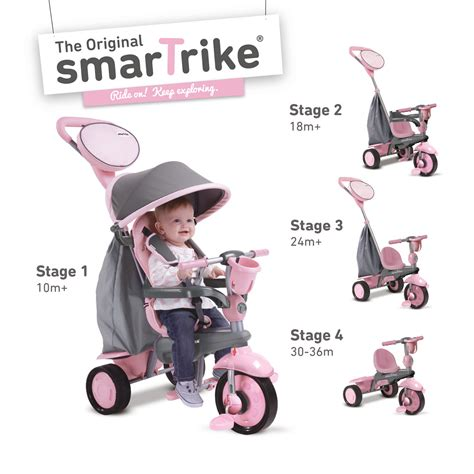 smart trike 4 in 1 recliner pink smart trike recliner pink 28 images smartrike 4 in 1