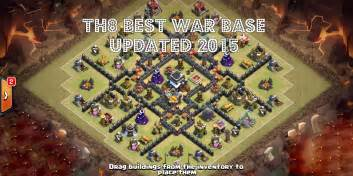 Best town hall 8 defense 2015 clash of clans town hall level 8 best