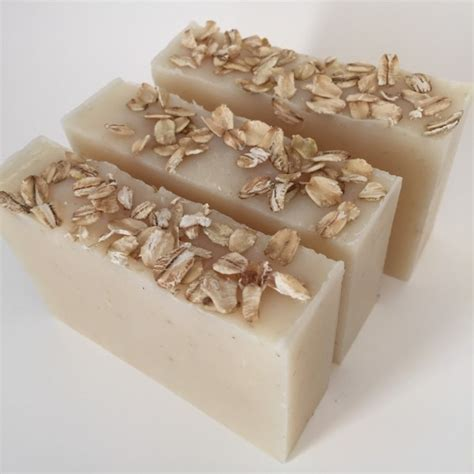 simple oatmeal handmade soap soap unscented soap