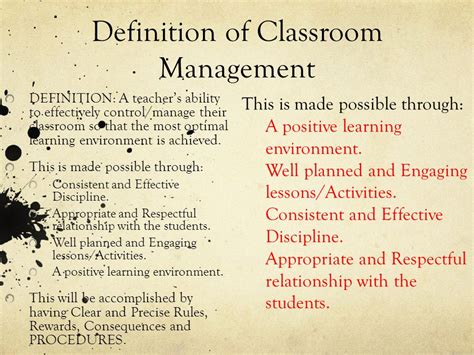 classroom layout definition ms bowie s classroom management plan ppt video online
