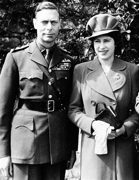 KIng George VI and Princess Elizabeth | Young queen