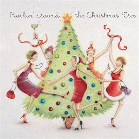 artists who sang rocking around the christmas tree rocking around the tree