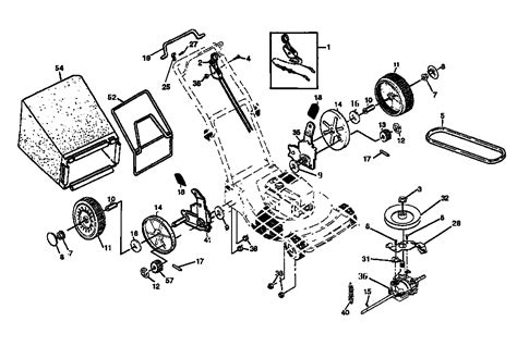 craftsman self propelled lawn mower parts diagram deere self propelled mower diagram imageresizertool