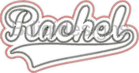 baseball pattern font name team name baseball font embroidery design by