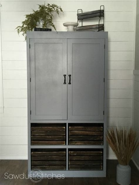 How To Build A Freestanding Pantry by A Freestanding Pantry For Small Spaces Your Projects Obn