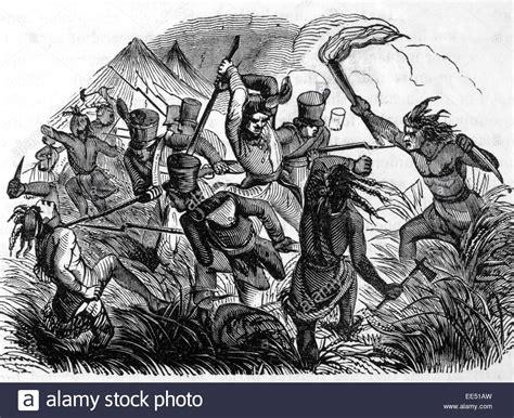 engraving battle battle of tippecanoe november 7 1811 engraving circa