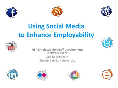 Teen2xtreme Using Social Media To   using social media to develop employability