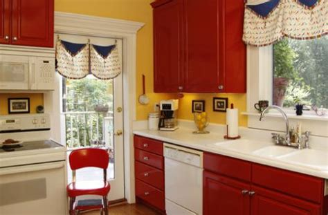 red kitchen with white cabinets kitchen design pictures of red kitchen cabinets