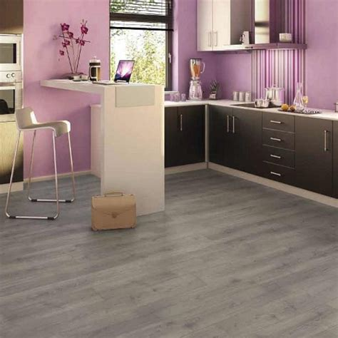gray laminate kitchen flooring   Megafloor XXL Long