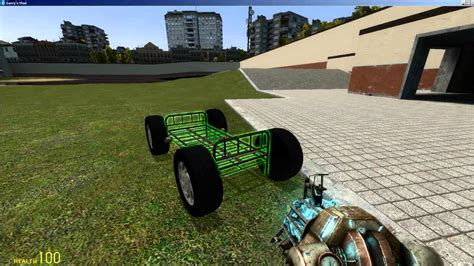 mod garry s mod car how to make a car in gmod no mods required youtube