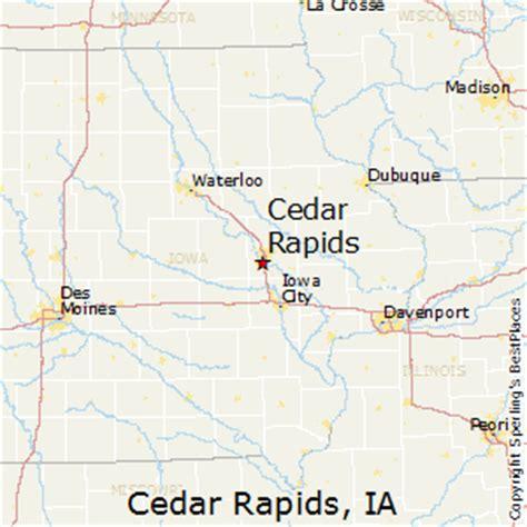 map of cedar rapids iowa best places to live in cedar rapids iowa