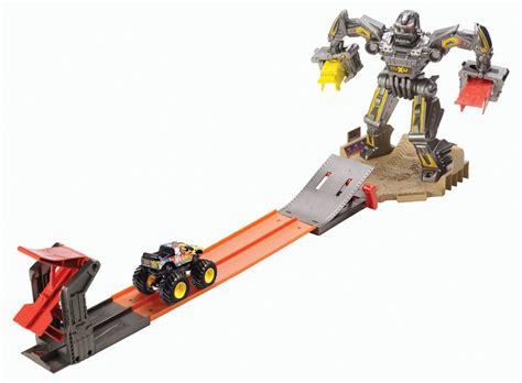 wheels monster truck race track wheels monster jam maximum destruction battle trackset