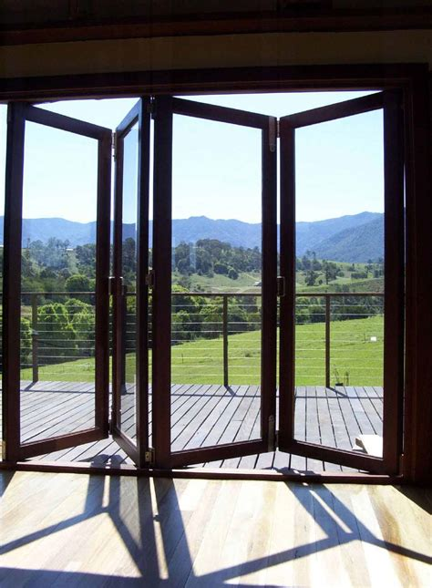 folding doors for bedrooms ward log homes accordian glass doors image of accordion glass doors