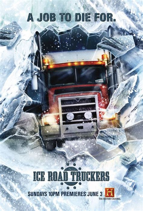 ice road truckers tv poster    imp awards