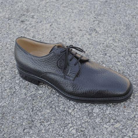 gravati s shoes gravati tour genuine peccary lace up shoes in black