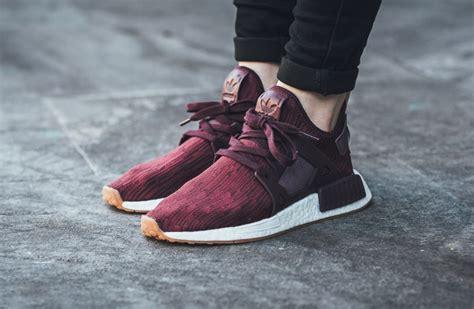 Adidas Nmd Purple Burgundy maroon burgundy cover this adidas nmd xr1