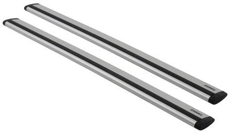 thule roof rack cross bars thule arb43 wingblade style roof rack 43 quot cross bar