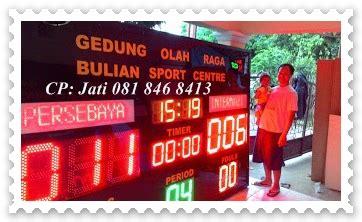 Papan Score Basket Besar papan skor scoreboard sepakbola futsal basket papan nama