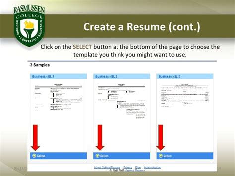 Optimal Resume Cornell by Optimal Resume Rasmussen Resume Builder Cornell Cornell