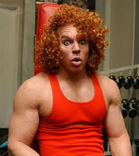 top douchebag celebrities carrot top net worth how much did the ginger comedian earn